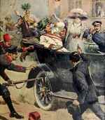 The Assassination of Archduke Franz Ferdinand Leads to WW1