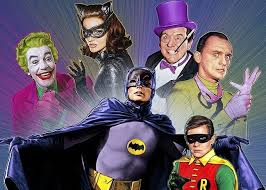 Batman Robin and Villains