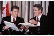Brian Mulroney & Reagan