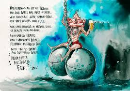 Tony Abbott Balls David Rowe Toon