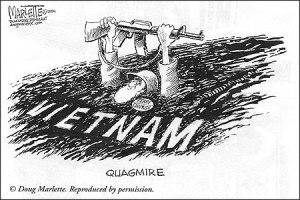 Vietnam Quagmire - Marlette