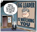 Harper Big Leader is Watching You