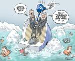 Harper Sinking Ship Joe Oliver