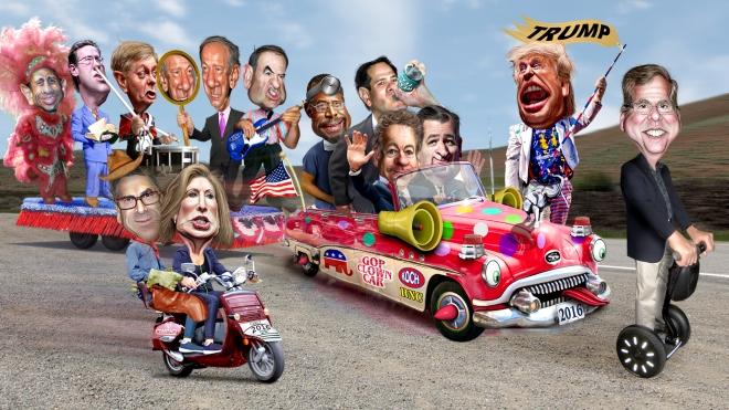 2016_Republican_Clown_Car_Parade_-_Trump_Exta_Special_Edition_(18739683269)