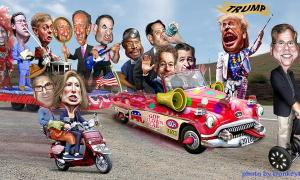 GOP Clown Car Toon (2)