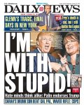 Trump Palin Im With Stupid
