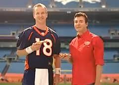 John Shnatter and Peyton Manning