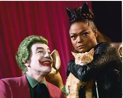 Eartha Kitt Caesar Romero Batman Catwoman