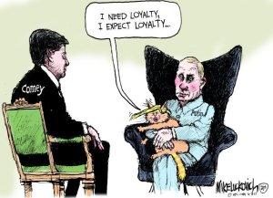 DT Putin Comey I need Loyalty ML June 2017