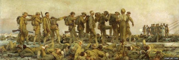 Chemical Weapons Soldiers WW1 John Singer Sargent