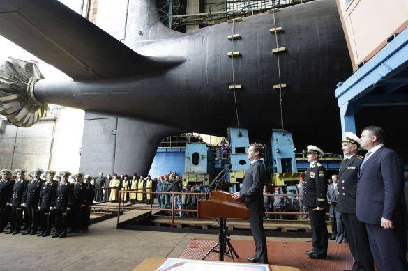 Medvedev Russian Nuclear Attack Submarine 4th Generation