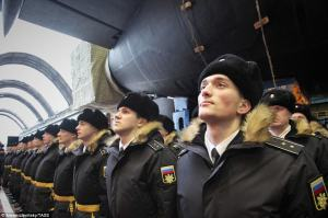Russian Nuclear Sub Prince Vladimir 2017