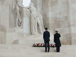 Trudeau at Vimy Nov 10 2018