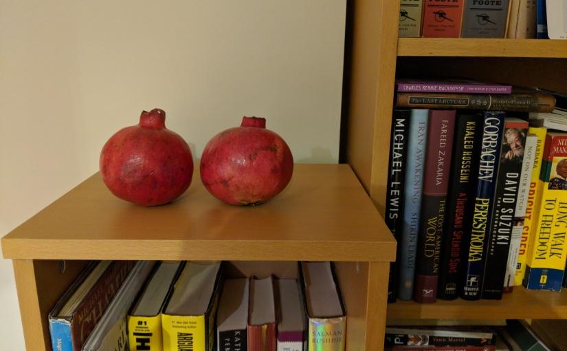 Miss Myrtle's Vancouver: Pomegranates Part2