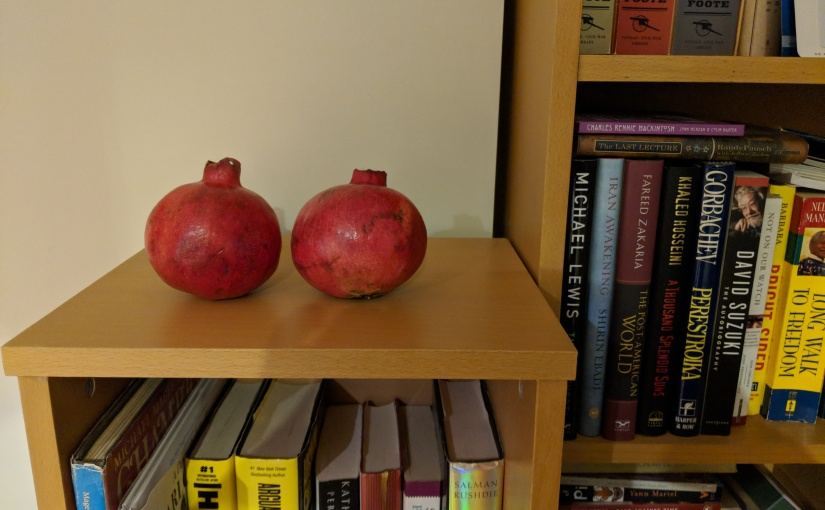 Miss Myrtle's Vancouver:Pomegranates